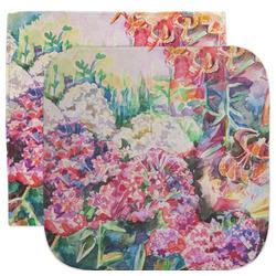 Watercolor Floral Facecloth / Wash Cloth