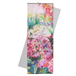 Watercolor Floral Yoga Mat Towel