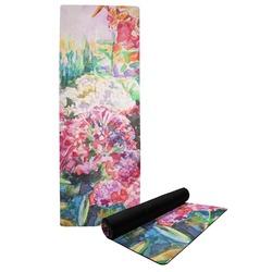 Watercolor Floral Yoga Mat