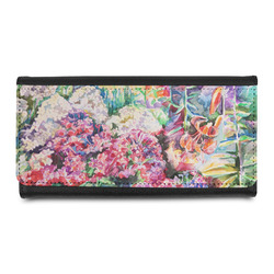 Watercolor Floral Leatherette Ladies Wallet