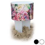 Watercolor Floral Beach Spiker Drink Holder