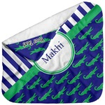 Alligators & Stripes Baby Hooded Towel (Personalized)