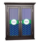 Alligators & Stripes Cabinet Decal - Custom Size (Personalized)
