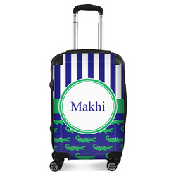 Alligators & Stripes Suitcase (Personalized)