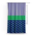 Alligators & Stripes Curtain (Personalized)