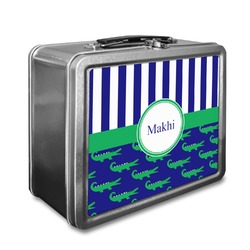 Alligators & Stripes Lunch Box (Personalized)