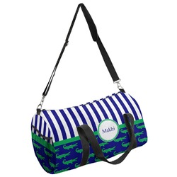 Alligators & Stripes Duffel Bag (Personalized)