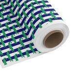 Alligators & Stripes Custom Fabric by the Yard (Personalized)