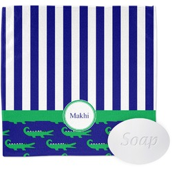 Alligators & Stripes Wash Cloth (Personalized)
