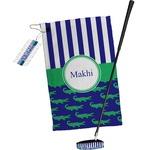 Alligators & Stripes Golf Towel Gift Set (Personalized)