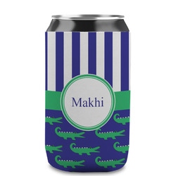 Alligators & Stripes Can Sleeve (12 oz) (Personalized)