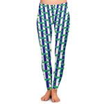 Alligators & Stripes Ladies Leggings (Personalized)