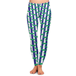 Alligators & Stripes Ladies Leggings (Personalized)