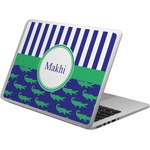 Alligators & Stripes Laptop Skin - Custom Sized (Personalized)