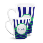 Alligators & Stripes Latte Mug (Personalized)