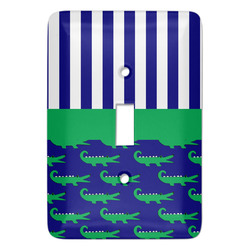 Alligators & Stripes Light Switch Covers - Multiple Toggle Options Available (Personalized)