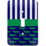 Alligators & Stripes Light Switch Cover (Single Toggle) (Personalized)
