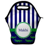 Alligators & Stripes Lunch Bag w/ Name or Text