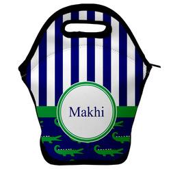 Alligators & Stripes Lunch Bag (Personalized)
