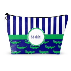 Alligators & Stripes Makeup Bags (Personalized)