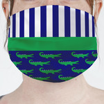 Alligators & Stripes Face Mask Cover (Personalized)