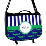 Alligators & Stripes Messenger Bag (Personalized)