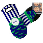 Alligators & Stripes Neoprene Oven Mitt (Personalized)