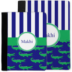 Alligators & Stripes Notebook Padfolio w/ Name or Text