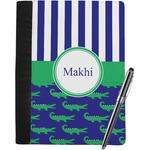 Alligators & Stripes Notebook Padfolio (Personalized)
