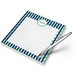Alligators & Stripes Notepad (Personalized)