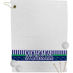 Alligators & Stripes Golf Towel (Personalized)