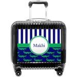 Alligators & Stripes Pilot / Flight Suitcase (Personalized)