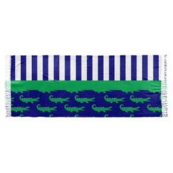Alligators & Stripes Faux Pashmina Scarf (Personalized)