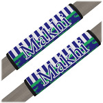 Alligators & Stripes Seat Belt Covers (Set of 2) (Personalized)