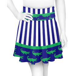 Alligators & Stripes Skater Skirt (Personalized)
