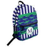 Alligators & Stripes Student Backpack (Personalized)