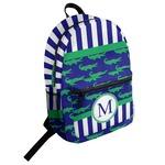 Alligators & Stripes Student Backpack (Personalized)