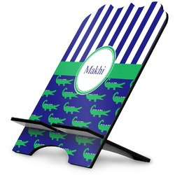 Alligators & Stripes Stylized Tablet Stand (Personalized)