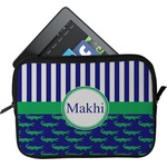 Alligators & Stripes Tablet Case / Sleeve (Personalized)