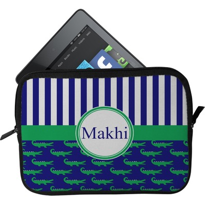 Alligators & Stripes Tablet Case / Sleeve (Personalized)