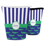 Alligators & Stripes Waste Basket (Personalized)
