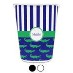 Alligators & Stripes Waste Basket (Personalized)