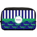 Alligators & Stripes Toiletry Bag / Dopp Kit (Personalized)