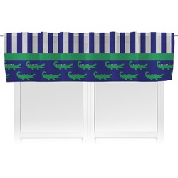 Alligators & Stripes Valance (Personalized)