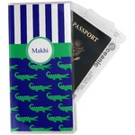 Alligators & Stripes Travel Document Holder