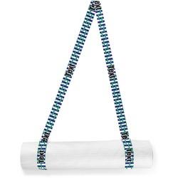 Alligators & Stripes Yoga Mat Strap (Personalized)
