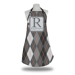 Modern Chic Argyle Apron (Personalized)