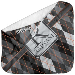 Modern Chic Argyle Baby Hooded Towel (Personalized)