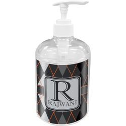 Modern Chic Argyle Soap / Lotion Dispenser (Personalized)