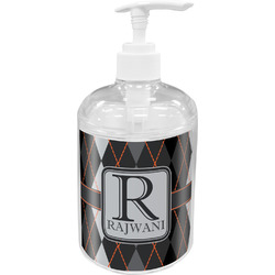Modern Chic Argyle Acrylic Soap & Lotion Bottle (Personalized)